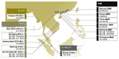 東南アジアに展開するフォスター電機の工場