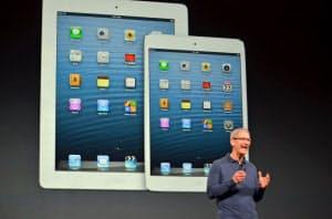 2012年10月に発表したiPad miniから画期的な製品の発表が途絶えている