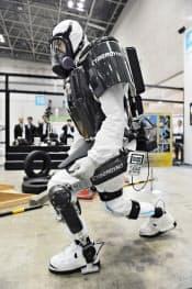 作業員の放射線被曝を減らせる「ロボットスーツHAL」