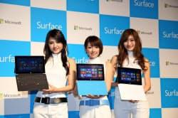 Surfaceの売れ行きの良しあしが、今後のWindows RTタブレットの命運を分ける(1日、東京・港)