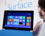 米マイクロソフトも自らタブレット端末「Surface」を発売するなど、戦略の転換を迫られている