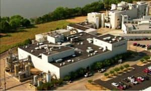 ソラザイムの油脂工場(米イリノイ州)