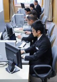 大阪府警が設置したサイバー犯罪対策課(2日午前、大阪市中央区)