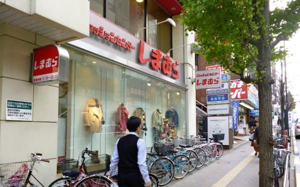 円安・消費増税を前に価格戦略を見直す(東京・高田馬場の店舗)