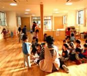 4月に開園した「おおくらやまえきまえのぞみ保育園」(横浜市)
