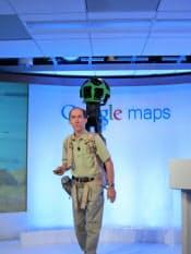 グーグルはリュックサック型の機材を使い米グランドキャニオンを撮影した