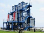 久米島の沖縄県海洋深層水研究所に完成した海洋温度差発電プラント