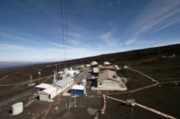 ハワイのマウナロア観測所=米海洋大気局提供・共同
