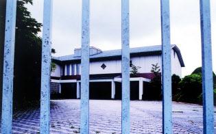 利用が少ない企業の建物を有効活用する(写真は神奈川県箱根町の閉鎖された保養所)