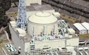 高速増殖炉原型炉「もんじゅ」=2012年3月、福井県敦賀市