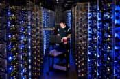 グーグルは自社のデータセンターで使う技術を企業に開放=グーグル提供・AP