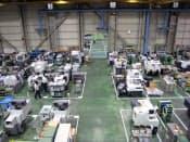 シチズンマシナリーミヤノの本社工場(長野県御代田町)ではレイアウト変更でスムーズな動線を確保し、生産効率向上につなげる
