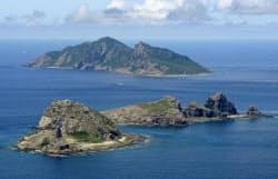 尖閣諸島=共同
