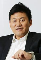 楽天の三木谷浩史会長兼社長