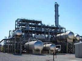 伊藤忠などは米国でのBDF生産量の5%分を手掛ける(米国のBDF工場)