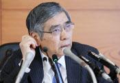 日銀の黒田総裁は11日の金融政策決定会合後の記者会見で、長期金利の安定化に自信を示した