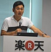 楽天の三木谷社長は大阪屋への出資をてこに書籍事業を強化する
