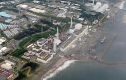高濃度の汚染水が外洋に流れ出ていた可能性が高い東京電力福島第1原発=共同