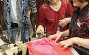 京王百貨店は婦人服フロアの改装で若々しい感性を持つ客層を意識した(東京都新宿区)