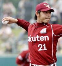 現在は米シアトル・マリナーズで活躍する岩隈久志投手=共同