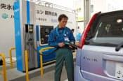 JXエネは水素の製造から販売まで一貫供給体制構築を急ぐ(写真は神奈川県海老名市の水素ステーション)