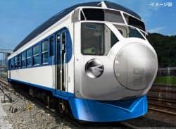 JR四国が既存の車両を改造してつくる最高時速85キロの「0系新幹線」のイメージ。来年3月ごろに窪川―宇和島間で運行予定(30日)=共同