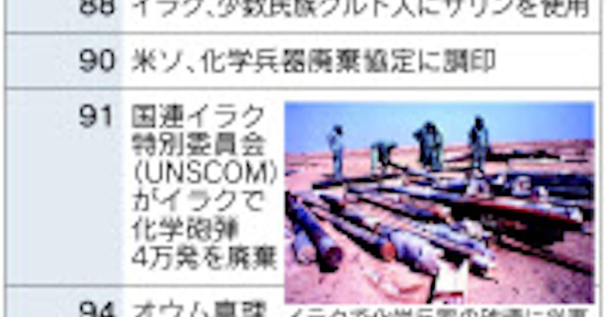OPCW、化学兵器封じ込めに重責 欠かせぬ国際協調: 日本経済新聞