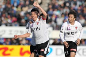 京都はJ1復帰へ正念場の試合が続く=京都サンガ提供