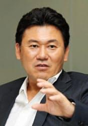 楽天の三木谷浩史社長