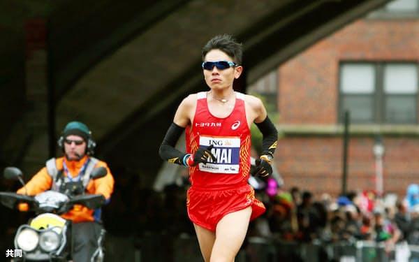 ニューヨークシティー・マラソンの男子で6位に入った今井正人(3日、ニューヨーク)=共同
