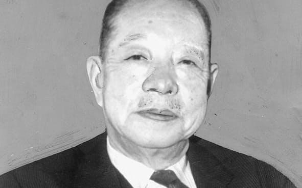 後に自民党副総裁などを歴任した大野伴睦。典型的な党人派だった。