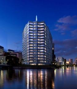 三井不動産は東京・港のマンション(完成イメージ)でクーポン配信サービスを導入