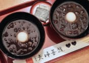 1人前を2杯に分けて提供する「夫婦善哉」(大阪市中央区)
