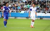 先日は元日本代表、三浦淳宏さんの引退試合に出場した