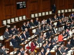 日本版NSC法が参院本会議で賛成多数で可決、成立した(27日)