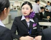 「CAと利用者との心理的な近さこそが、全日空らしさ」と語る石井彩子さん