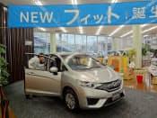 新型車効果も新車販売を後押し(横浜市のホンダの販売店)
