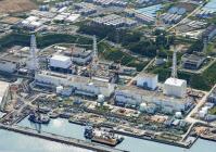 地上タンクからの汚染水の漏えい対策が大きな課題になっている東京電力福島第1原発=共同