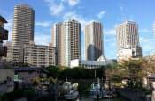 首都圏ではマンション需要が旺盛(東京都中央区)
