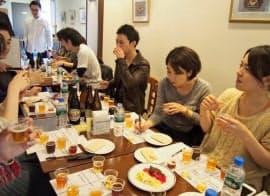 カンパイ会議に登録していた30人が、実際に対面してビール開発に向けて語り合った