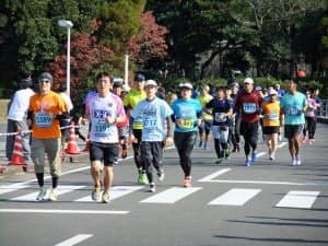 レースを走り終えた後、体には様々なダメージが残る(第27回青島太平洋マラソン)