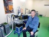 大建産業の武田信秀社長はD-Laserを設立、レーザーを活用したものづくりに取り組む