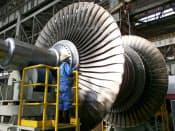 環境対応を進めれば石炭火力発電所の有用性は高い(三菱重工業の蒸気タービン)
