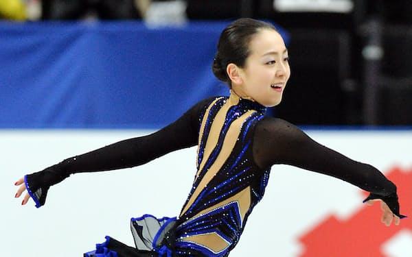 「浅田は挑戦を恐れず、練習熱心」とリピンスキーさん。金メダルに手が届くか