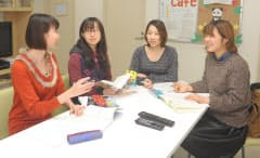 個別の空間を持ちながら、キッチンやリビングを共同で使う寮「お茶大SCC」で暮らす学生(東京都文京区のお茶の水女子大学)