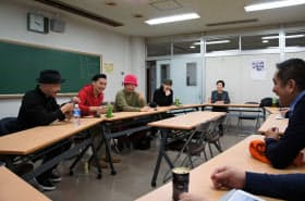 会議に臨む「クラブとクラブカルチャーを守る会」のメンバー(昨年12月、東京都港区)