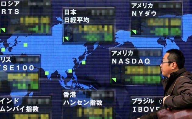 世界株安連鎖