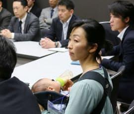災害時の医療活動について議論する医師の会合に参加する吉田穂波さん