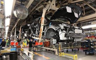 英国では高級車を生産する(日産自動車のサンダーランド工場)