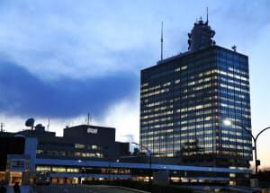 3000億円以上を投じて建て替えが計画されているNHK放送センター(東京都渋谷区)